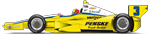 3 Castroneves Penske Truck Rental Livery
