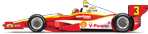 3 - Helio Castroneves - Shell