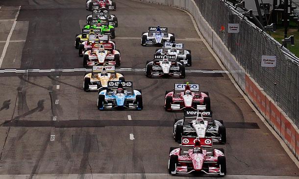 Start of Chevrolet Detroit Belle Isle Grand Prix